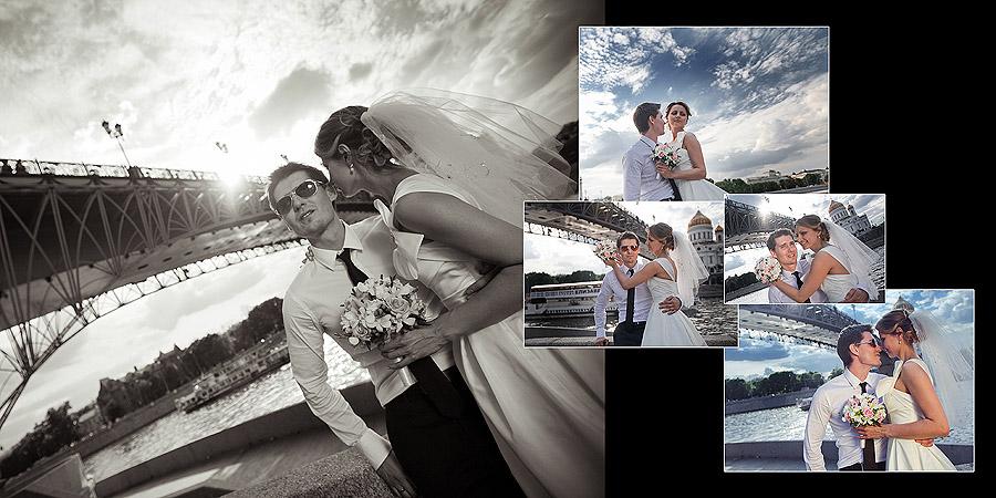 Патриарший мост - фотосъемка в Москве