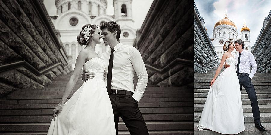 москва - свадебный фотограф