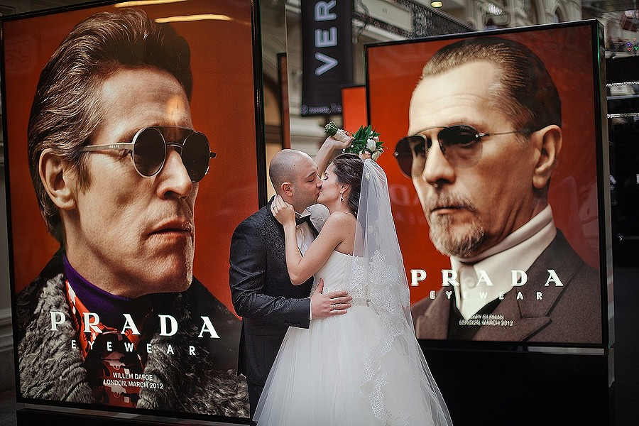 рекламный фотограф на свадьбу